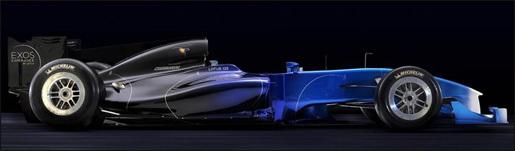 Lotus Exos T125 supercar autosalon Parijs
