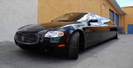 Maserati Quattroporte Limousine