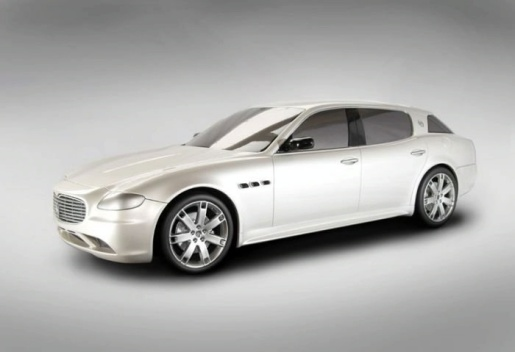 Maserati Cinqueporte - Quattroporte Shooting Brake Project