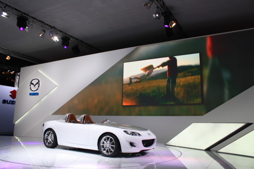 Mazda MX-5 Superlight Concept IAA Autoshow Frankfurt 2009