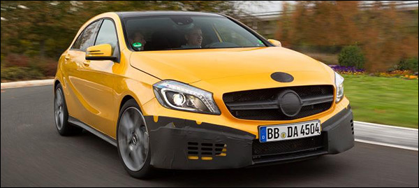 Mercedes A-klasse A45 AMG preview