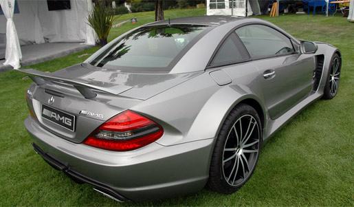 Mercedes AMG SL65 Black Series