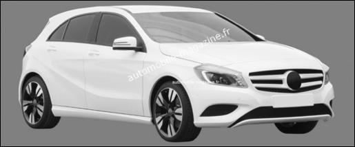 Gelekt Mercedes A-Klasse