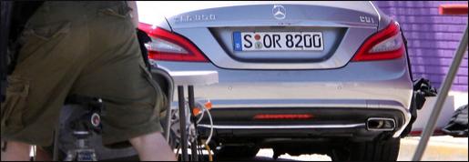 Nieuwe Mercedes CLS