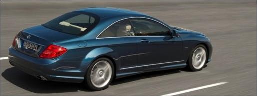 Mercedes CL Facelift