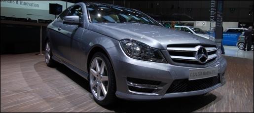 Mercedes C-Klasse Coupe Geneva