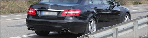 Mercedes E63 AMG Sedan spyshots