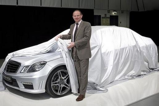 Mercedes E63 AMG Teaser