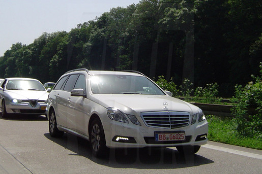 Mercedes E-Klasse Estate Spyshots