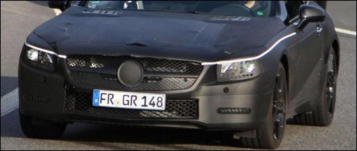Spyshots: Mercedes SL 2012 Nurburgring