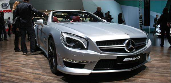 Mercedes SL63 AMG Geneve