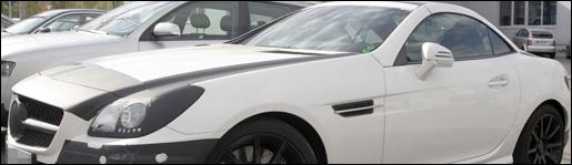 Spyshots Mercedes SLK55 AMG