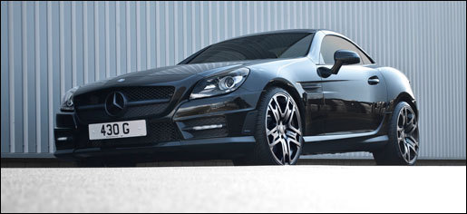 Project Kahn doet de Mercedes SLK 250