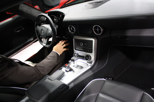 Mercedes SLS AMG IAA Autosalon Frankfurt