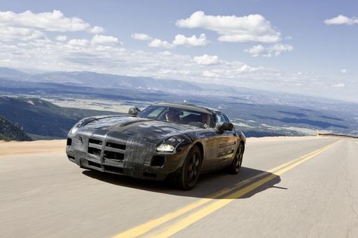 Mercedes SLS AMG<br /> Preview