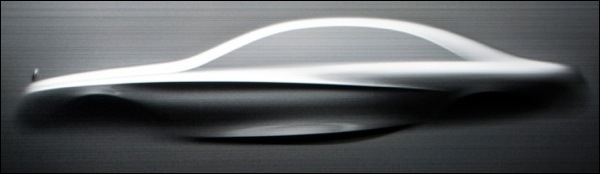 Teaser Nieuwe Mercedes S-Klasse 2014 Sculptuur