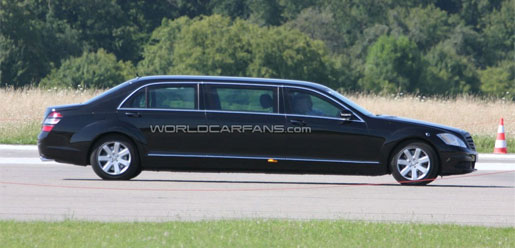 Mercedes S klasse Pullman Guard