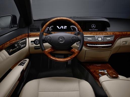 Mercedes S-klasse Facelift S600