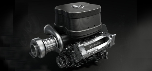 Mercedes V6 Turbo 2014 F1