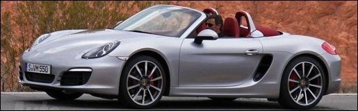 Spyshot Nieuwe Porsche Boxster