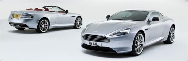 Nieuwe Aston Martin DB9 2013