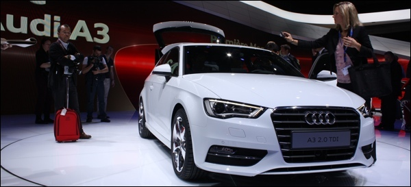 Nieuwe Audi A3 2012