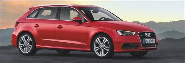 Nieuwe Audi A3 Sportback 2013
