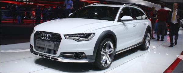 Audi stelt naast de Audi A3 ook de Audi A6 Allroad voor, een Audi A6 ...