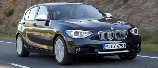 Nieuwe BMW 1-Reeks Gelekt