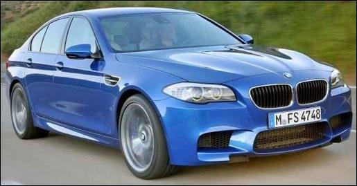 Nieuwe BMW M5 F10