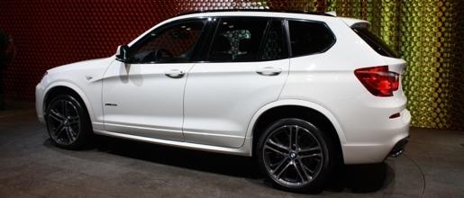 Nieuwe BMW X3 Parijs 2010