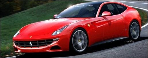 Nieuwe Ferrari 612