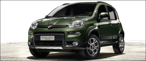 Nieuwe Fiat Panda 4x4 2013