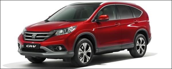 Nieuwe Honda CR-V 2013
