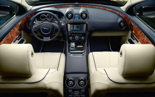 Nieuwe Jaguar XJ Interieur