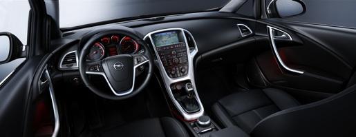 Interieur nieuwe Opel Astra