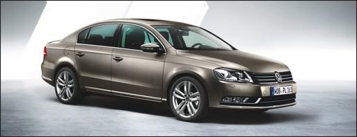 Nieuwe Volkswagen Passat