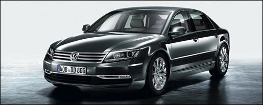 Nieuwe Volkswagen Phaeton