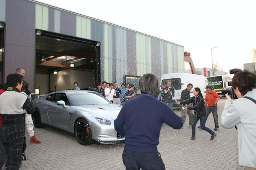 Nissan GT-R Nurburging