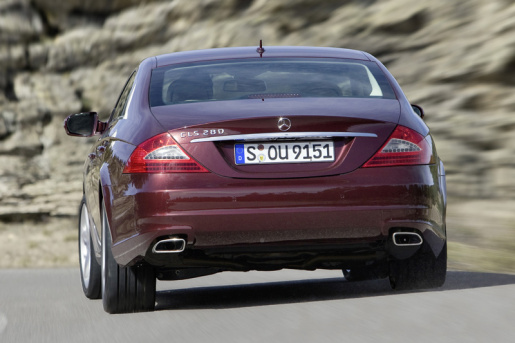Officieel Mercedes CLS Facelift