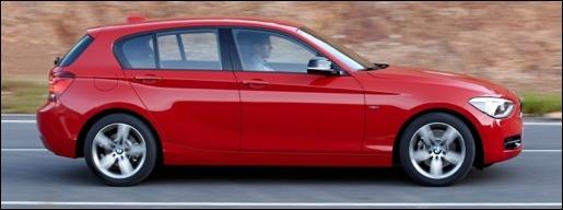 Nieuwe BMW 1-Reeks