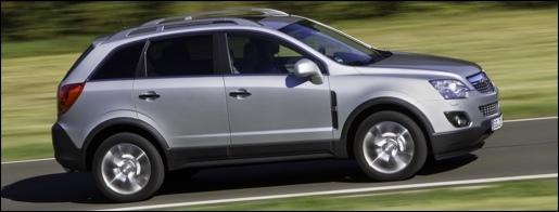 Opel Antara Facelift