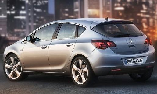 Nieuwe Opel Astra