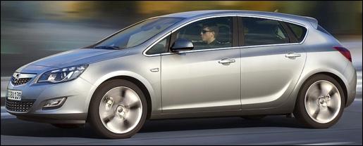 Nieuwe Opel Astra 2010