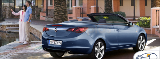 Opel Astra Cabrio Impressie