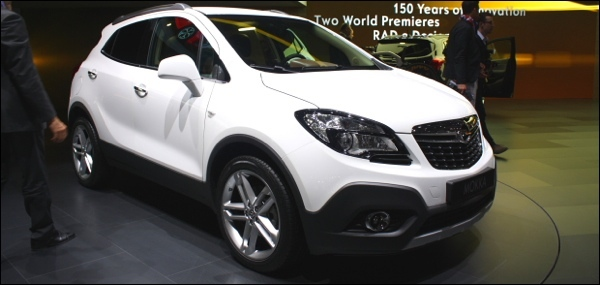 autosalon geneve 2012 opel mokka. Black Bedroom Furniture Sets. Home Design Ideas