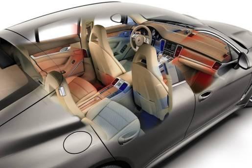 Porsche Panamera airco