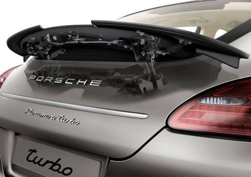 Porsche Panamera Adjustable Spoiler / Aanpasbare Spoiler