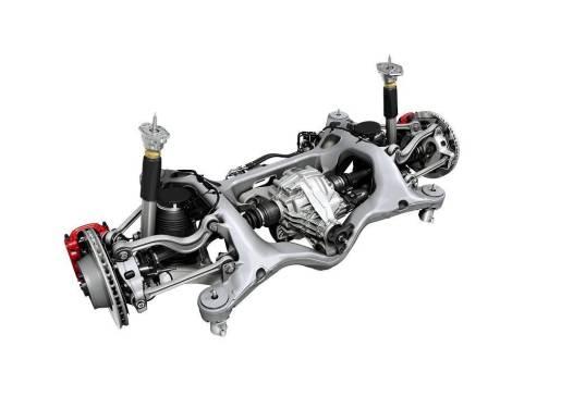 Porsche Panamera air suspension