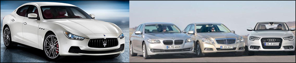 Poll Maserati BMW Audi Mercedes